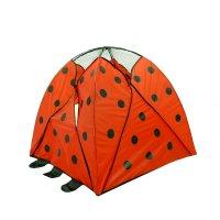 Палатка детская игровая божья коровка с туннелем