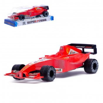 Машина инерционная формула, световые и звуковые эффекты, цвета микс