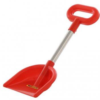 39897 лопата wader №20, алюминиевый черенок с ручкой, красный