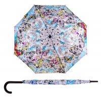 Зонт-трость жизнь - это полет, d = 106 см, 8 спиц