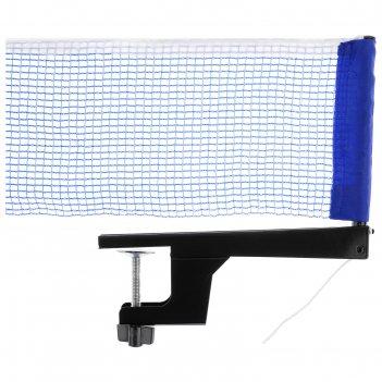 Сетка для настольного тенниса, с крепежом, 181 х 14 см, цвета микс