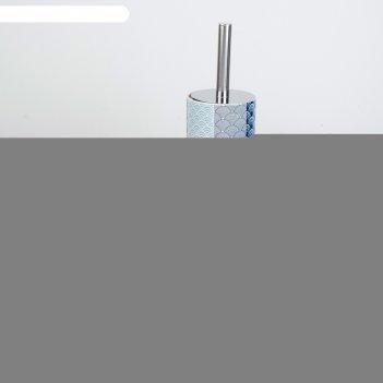 Набор для ванной геометрия, 6 предметов мыльница, 2 дозатора для мыла, 2 с