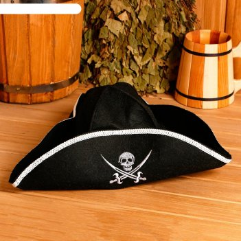 Банная шапка шляпа пират