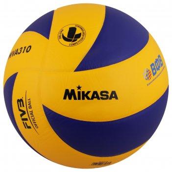 Мяч волейбольный mikasa mva 310, р.5, сине-желтый