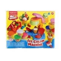 Пластилин на растительной основе ice cream machine 8 бан*35г, ek 35631