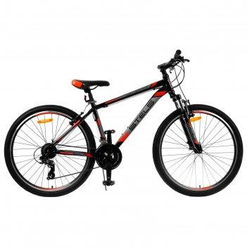 Велосипед 26 stels navigator-500 v, v030, цвет чёрный/красный, размер 18