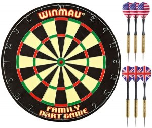 Комплект для игры в дартс winmau family dart game