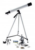 Набор юный натуралист супер: телескоп настольный, съемные линзы 20х-30х-