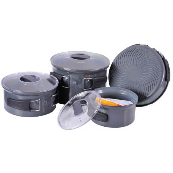Набор посуды анодированного аллюминия 4-5 персон tramp