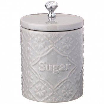 Банка для сахара коллекция crystal 13*13*20 см 900 мл