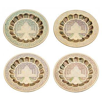 Тарелка декоративная диаметр=18 см. 4 вида в ассор...