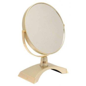 Зеркало b7 300 g5/g gold настольное 2-стор. 5-кр.ув.18 см. (