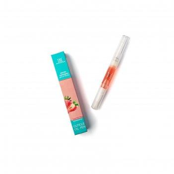 Масло-карандаш для кутикулы tnl, клубника, 5 мл