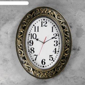 Часы настенные, серия: классика, эвелин, 58х46 см