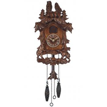 Настенные часы с кукушкой columbus сq-080c