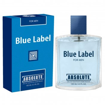 Туалетная вода мужская absolute blue label, 100 мл