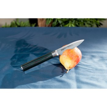 Нож поварской японский овощной samura микарта mo-v sm-0010