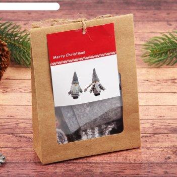 Набор для творчества создай новогоднюю подвеску набор 2 шт