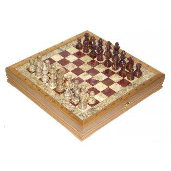 Шахматы каменные американские 43х43 см (3,50) rtg-5880