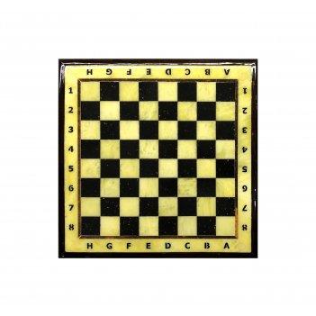 Шахматная доска малая с рамкой 25*25