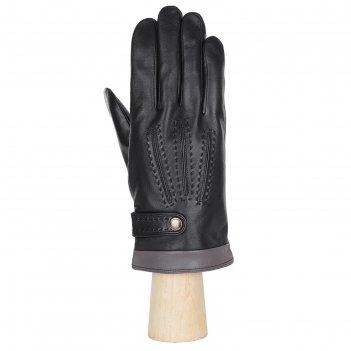 Перчатки мужские, натуральная кожа (размер 9) черный