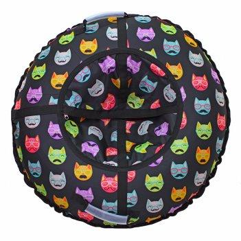 Санки надувные тюбинг rt коты усатые, диаметр 105см
