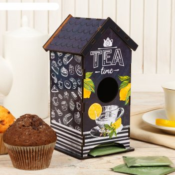 Чайный домик tea time, 20х8,6 см