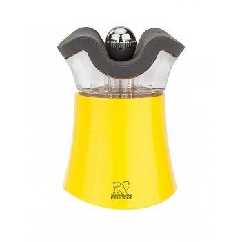 Мельница для перца и солонка 2-в-1 pep's peugeot, 8см, желтый, акрил