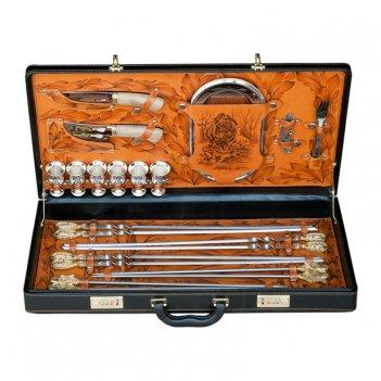 Подарочный набор в чемодане русский лес (на 6 персон)