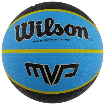 Мяч баскетбольный wilson mvp, арт.wtb9019xb07, размер 7, резина, бутиловая