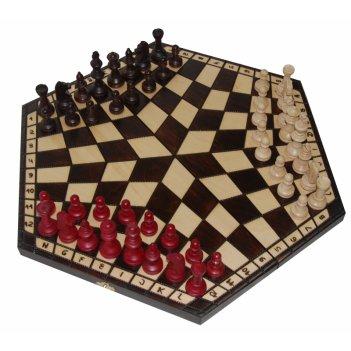 Шахматы на троих большие 47х47см