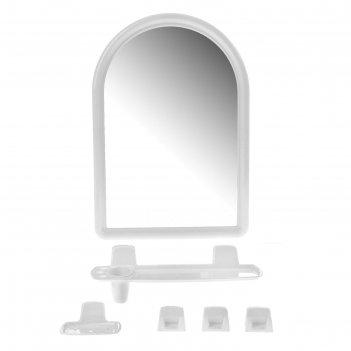 Набор для ванной комнаты berossi, снежно-белый