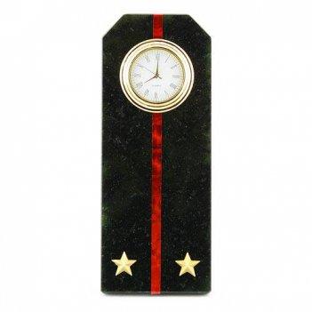 Часы погон лейтенант мп вмф камень змеевик