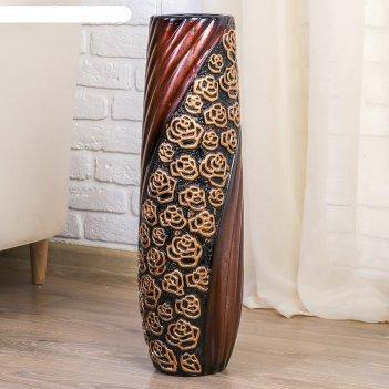 Ваза напольная розы d-11 см, 17х60 см