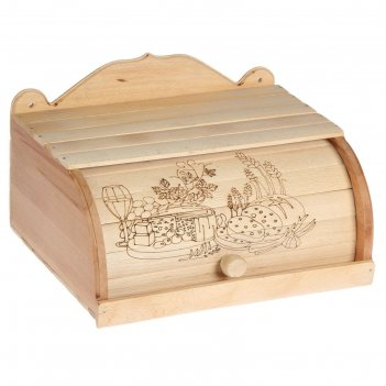 Хлебница деревянная щедрый стол, с выжиганием