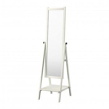Зеркало напольное, белая морилка исфьёрден