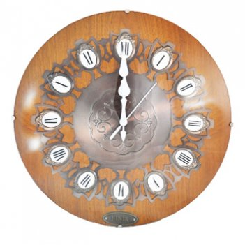 Часы настенные sinix 6020 оак