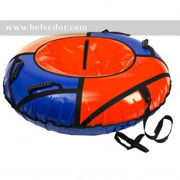 Сноутюб: надувные санки 125см сине-красная