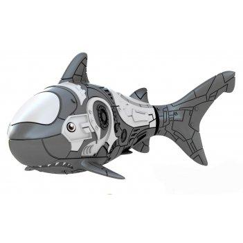 Роборыбка акула (серая) лицензионное изделие от robofish zuru