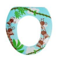Сиденье для унитаза детское 29,5х27х5 см обезьянки