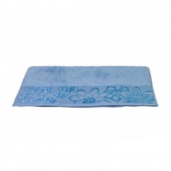 Полотенце dora, размер 30 x 50, светло-голубой