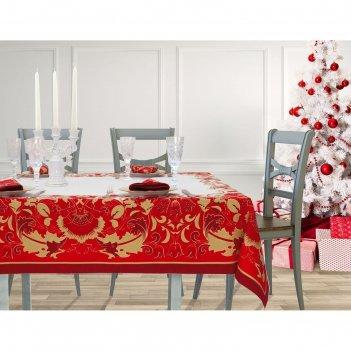 Набор столовый этель сказочные узоры,  скатерть 220*150 см, салф. 40*40 см