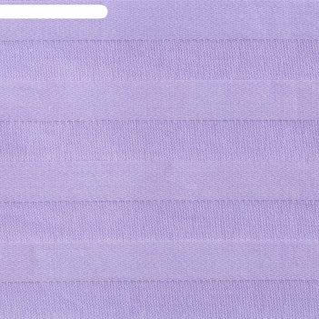 Пододеяльник этель basic 200*217 ± 3см, цв.лиловый,страйп-сатин,135 гр/м2