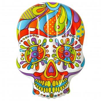 Матрас для плавания fiesta skull, 193 x 141 см, 43194 bestway