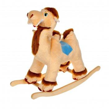 Мягкая качалка «верблюд», цвета микс
