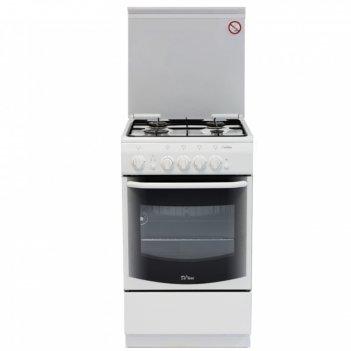 Плита газовая de luxe 5040.36 г (кр), 4 конфорки, 43 л, газовая духовка, б