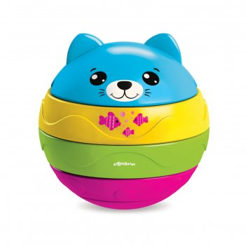 Музыкальный мячик-пирамидка котенок 4630027290625