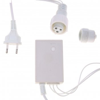 Контроллер уличный для гирлянд умс, до 500 led, нить белая