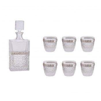 Набор для виски очарование льда (графин, 6 бокалов 250 мл.)