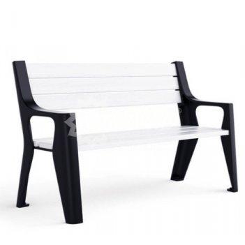 Скамейка чугунная «скамейкус-6» 1,8 м